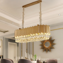 Modern crystal china led ceiling lamp for living room