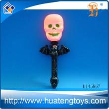 Venta al por mayor pequeño murciélago linterna Halloween pequeñas calabazas plásticas luces llevó luces de Halloween H145967