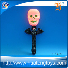 Wholesale Small bat flashlight Halloween small plastic pumpkins Lights led Halloween lights H145967