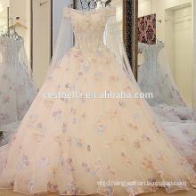 2016 quality luxurious crystal sparkling wedding dresses luxury bling long trailing wedding dress