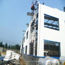 Construção rápida da oficina da construção de aço da instalação