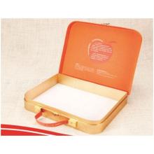 Lieferung tragbare rechteckige Papierbox, Geschenkbox kundenspezifisches Logo