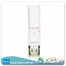 Tubo cosmético plastificado de cuidado personal para la crema facial de la fundación