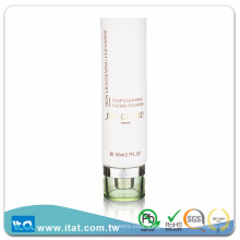 Personal care laminated plastic cosmetic tube for facial foundation cream