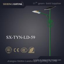 Venta al por mayor de la lámpara LED 6m-8m poste 60W luz de calle solar