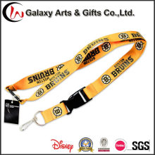 Polyester Personalised Logo Lanyards Custom