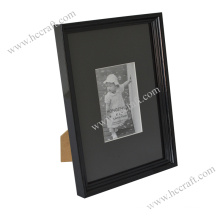 Classic Black Wooden Photo Frame for Home Deco