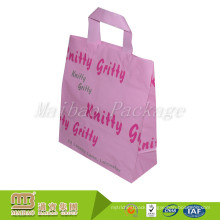 Wholesale Customized Design Flexi Loop Handles Biodegradable Hdpe Plastic Carry Bag With Price