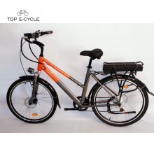 TOP/OEM 350w ce approved green 26 inch city electric bike for sales