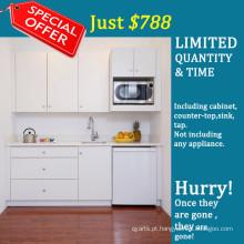 Forro estilo branco Modern Lacquer Kitchen Cabinet