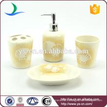 Ensemble d'accessoires de salle de bains en céramique