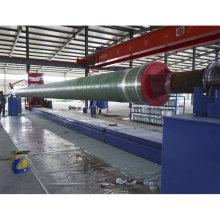 Enroulement contrôlé automatique de tuyau de filament de FRP / GRP faisant la machine