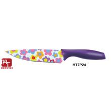 cuchillo de cocina de cocina antiadherente colorido