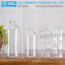 220ml 240ml 500ml et brillant d'injection de couleur du mono-couche style différent 1000ml finissent la production de bouteille d'animal familier de bonne qualité