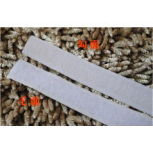 polyester velvet brushed fabric for hook clasp velcro