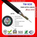 Cable de 96 fibras conductoras de fibra óptica GYTS