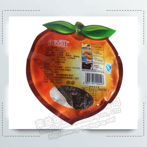 Lovely BOPP Fruit Shaped Pouches