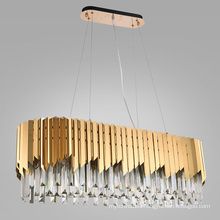 Modern Led Chandelier Circle Ceiling mounted LED Chandelier Lighting For Living room Dining room Kitchen