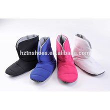 Foam padded home boot for women