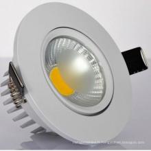Hot Sell LED haute qualité COB Downlight pour salon
