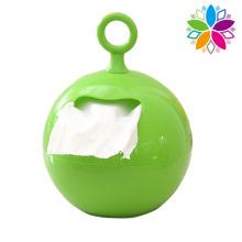 Round Creative Plastic Tecido Box (ZJH011)