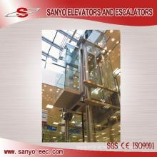 Elevador panorâmico do vidro 630KG 800KG 1000KG