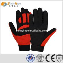 Sunnyhope moda deporte guantes mecánico protección guantes deportes mano guantes