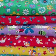 Printed Pattern and 100% Polyester Material flannel blanket fabric