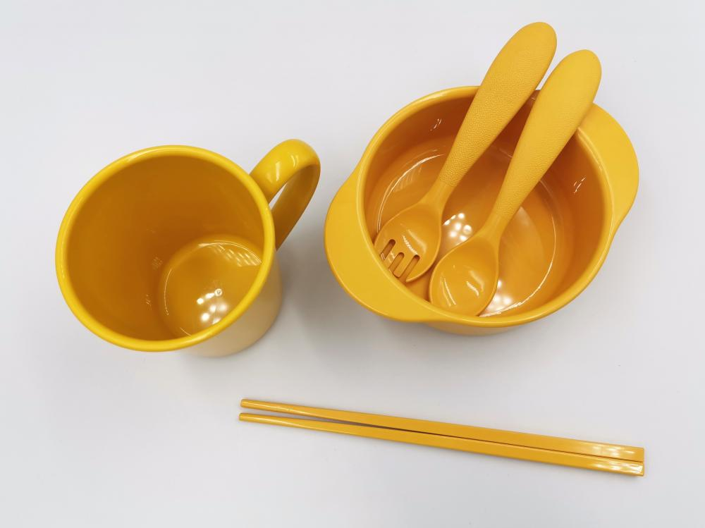 Biodegradable Natural Children's Tableware Set