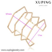 51633 bijoux xuping Designs simples Bracelet fantaisie sans pierre