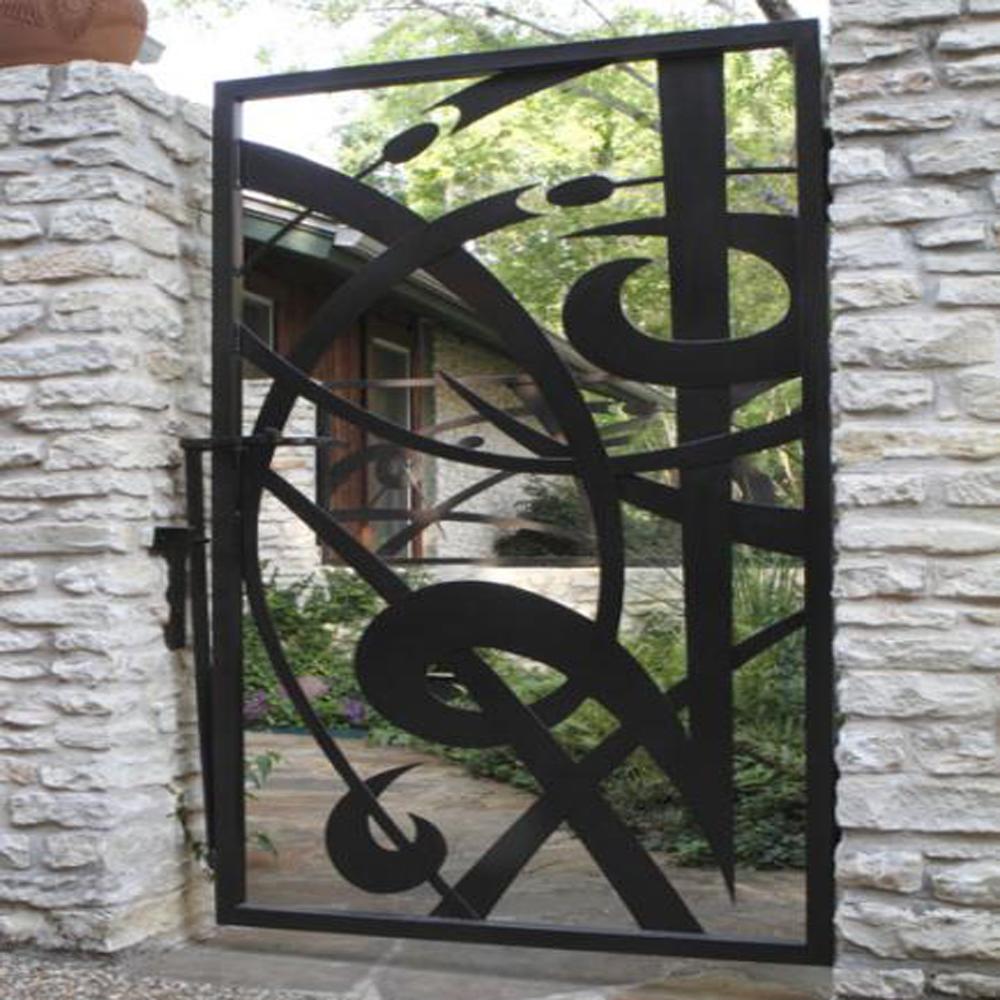 China Esgrima Y Puertas Metálicas Decorativas Fabricantes