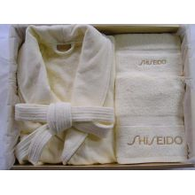 100%Fresh Cotton Towel&Bathrobe,Slipper  as Set