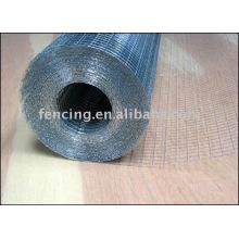 malla de alambre soldado con autógena galvanizado (fábrica)