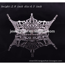 wholesale head jewelry full round royal crown for girls
