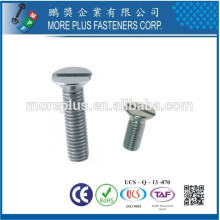 Made in Taiwan Nickel Plated M4X16 Countersunk Head PZ Self Tapping Screw