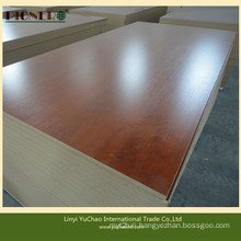 Chinese Wooden Grain Colores Melamine MDF