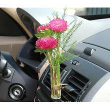 Sunflower Transparent Car Vase And Flower For Car Interior Air Freshenering Ts-av05