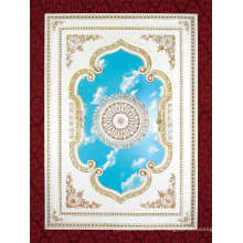 Panneau de plafond de style européen pour les salles à manger (BRD1420-F1-022)