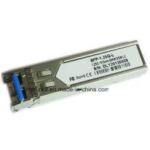 Émetteur-récepteur fibre optique SFP-1.25gL tiers compatible avec les commutateurs Cisco