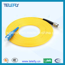 Mayor proveedor de cable de fibra óptica, cables de conexión