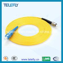 Fournisseur principal sur câble fibre optique, cordons de raccordement