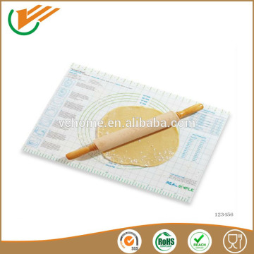 2015 new product silicone pastry mat silicone Bakeware sheet with high quality from Alibaba China