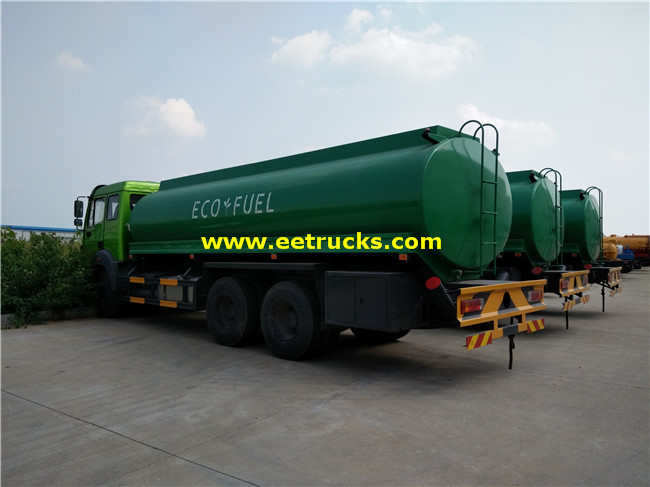 Beiben 16800L Gasoline Delivery Trucks
