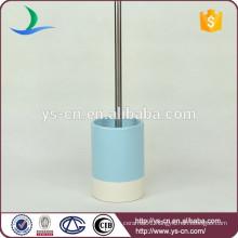 YSb50044-01-tbh Bamboo design stoneware toilet brush holder products