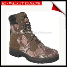 Bottes de chasse imperméables en cuir et camouflage