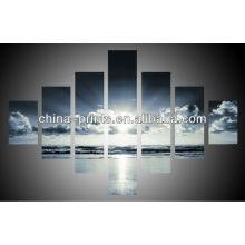 Wand Dekorative Himmel 7 Paneele Leinwanddrucke