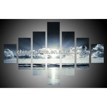 Wall Decorative Sky 7 Panels Canvas Prints