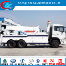 Dongfeng 6X4 Crane Wrecker Truck for Sale