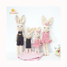 Organic Cotton Amigurumi Doll Bunny Toy Baby