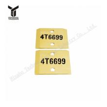 Loader cutting edge 4T6699 Segment Center